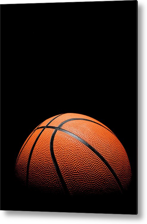 Team Sport Metal Print featuring the photograph Basketball by Stuartbur