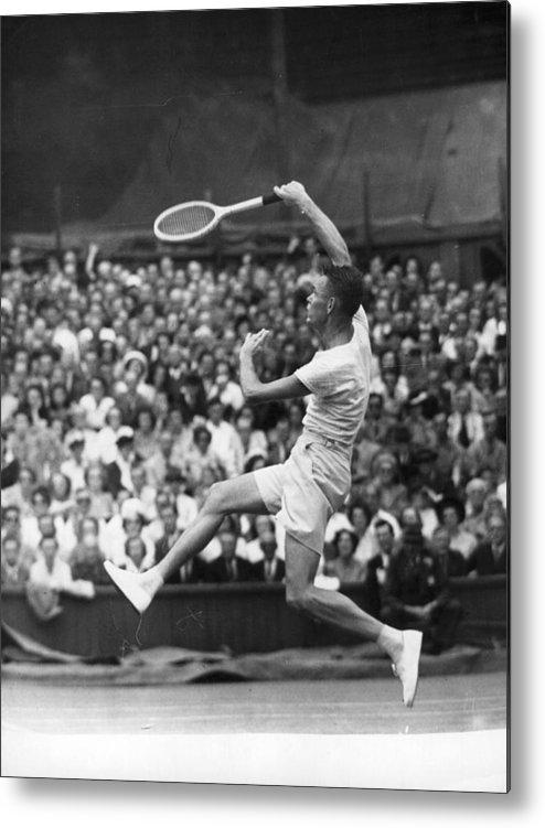 Tennis Metal Print featuring the photograph Jack Kramer by Douglas Miller