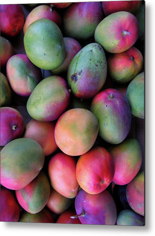 Mango Fruit Metal Print featuring the photograph Mango Mania by Digi guru