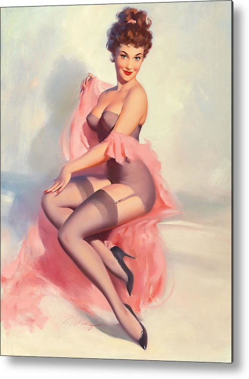 Retro Pin Up Girl Collection Home Decor Canvas Print choose your size.