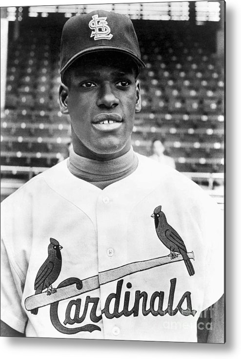 St. Louis Cardinals Metal Print featuring the photograph Bob Gibson by National Baseball Hall Of Fame Library