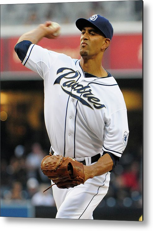 California Metal Print featuring the photograph Tyson Ross by Denis Poroy