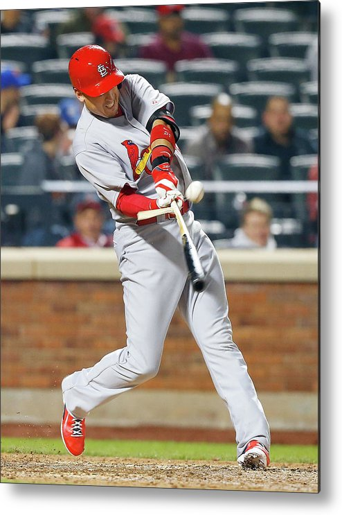 St. Louis Cardinals Metal Print featuring the photograph Allen Craig by Jim Mcisaac