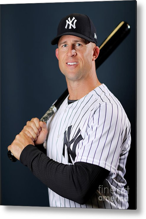 People Metal Print featuring the photograph Brett Gardner by Elsa