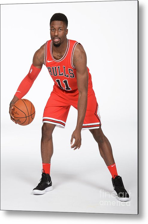 Media Day Metal Print featuring the photograph David Nwaba by Randy Belice