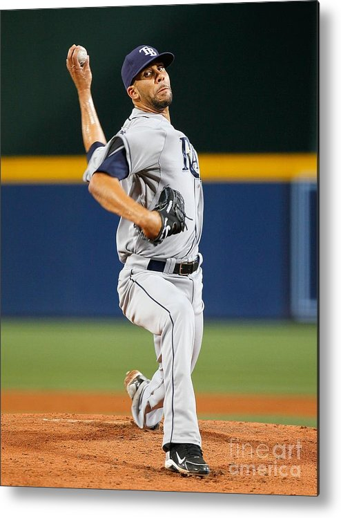 Atlanta Metal Print featuring the photograph David Price by Kevin C. Cox