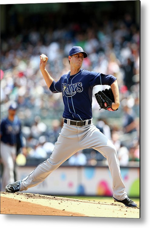 American League Baseball Metal Print featuring the photograph Jake Odorizzi by Elsa