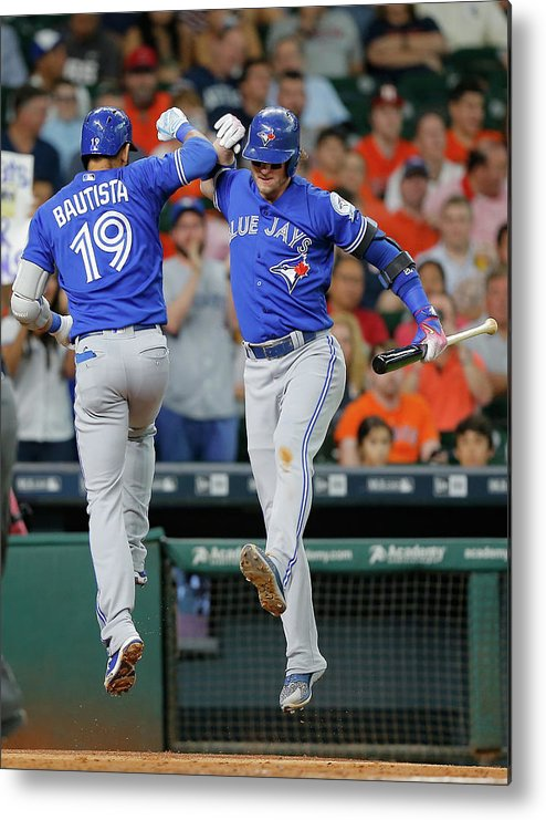 People Metal Print featuring the photograph Josh Donaldson by Bob Levey