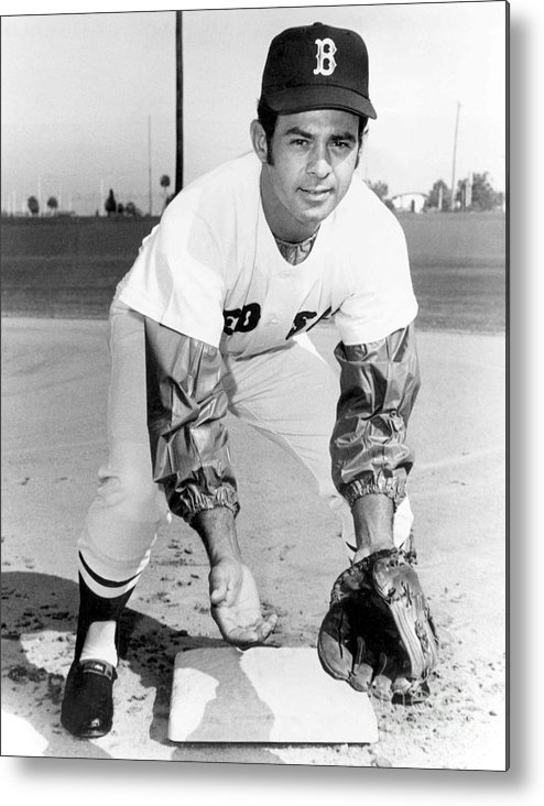 National League Baseball Metal Print featuring the photograph Luis Aparicio by National Baseball Hall Of Fame Library