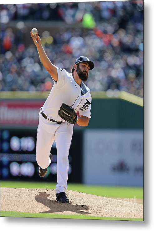 People Metal Print featuring the photograph Michael Fulmer by Leon Halip
