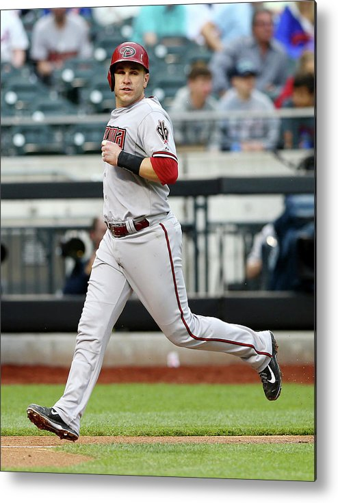 Second Inning Metal Print featuring the photograph Miguel Montero by Elsa