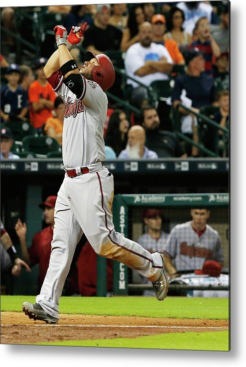 People Metal Print featuring the photograph Pat Neshek and Welington Castillo by Scott Halleran