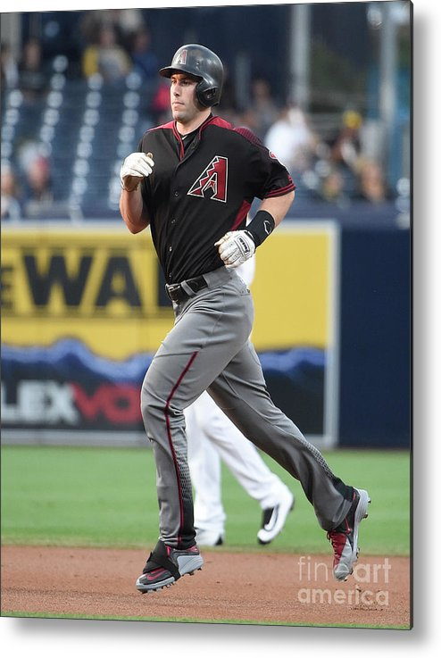 People Metal Print featuring the photograph Paul Goldschmidt by Denis Poroy
