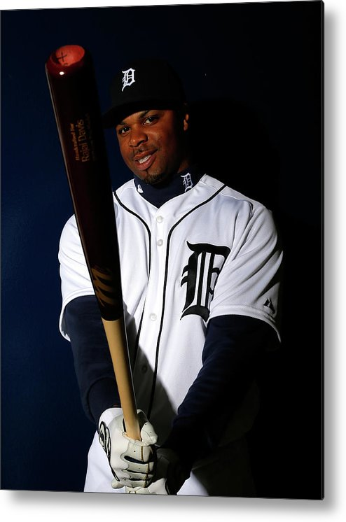 Media Day Metal Print featuring the photograph Rajai Davis by Kevin C. Cox