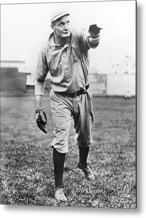 American League Baseball Metal Print featuring the photograph Rube Waddell by National Baseball Hall Of Fame Library