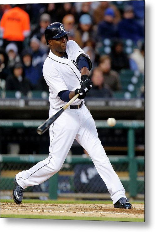 American League Baseball Metal Print featuring the photograph Torii Hunter by Duane Burleson