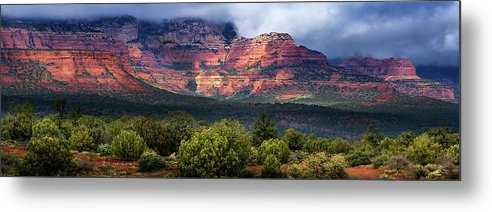Monsoons Over Sedona by Mikes Nature