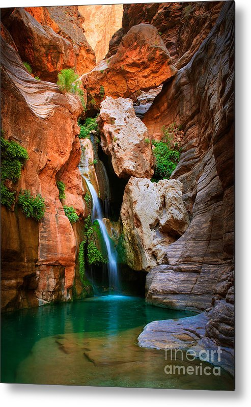 America Metal Print featuring the photograph Elves Chasm by Inge Johnsson