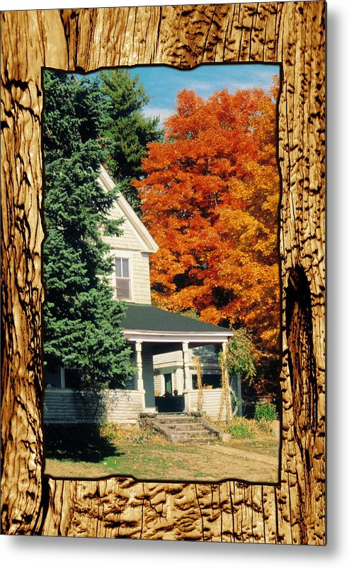 Boston Massachusetts Metal Print featuring the photograph Boston Home Fall 1982 by Noah Brooks