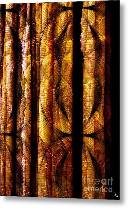 Bamboo Metal Print featuring the digital art Bamboo by Ron Bissett