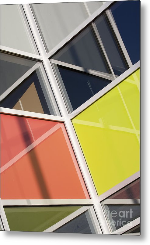 Glass Metal Print featuring the photograph Mirrors II by Chris Dutton