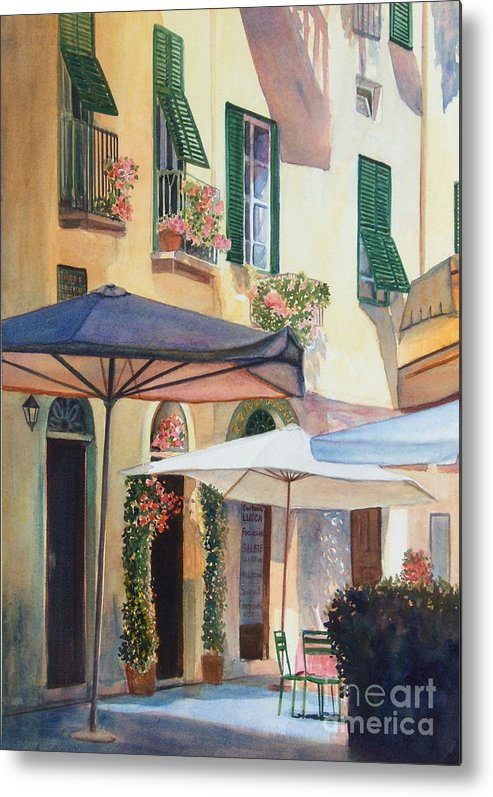 Tuscan Metal Print featuring the painting Tuscan Sunlight by Ann Cockerill