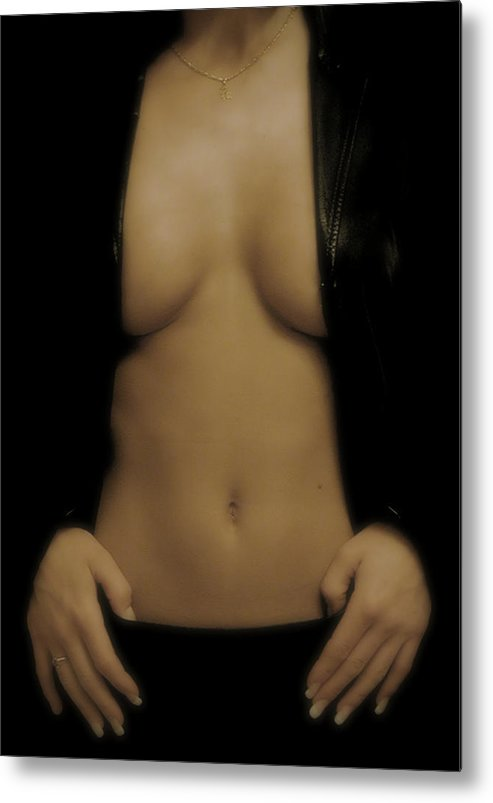Photography Metal Print featuring the photograph Women Body - Front by Robert Litewka
