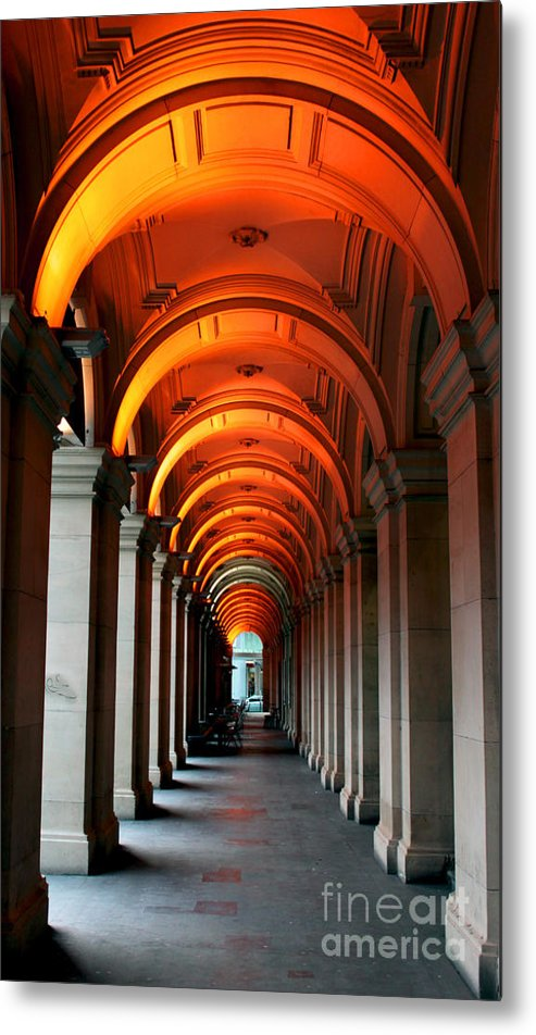 Arch Metal Print featuring the photograph Glowing Iteration by Andrew Paranavitana