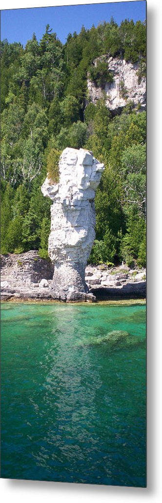 Flowerpot Island Metal Print featuring the photograph Flowerpot Island - Detail by Richard Andrews