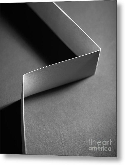 Paper Metal Print featuring the photograph Cutting Corners by Gabriela Insuratelu