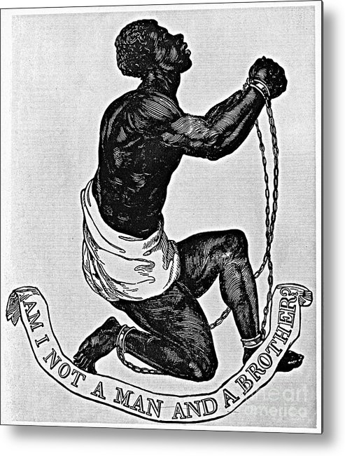 1835 Metal Print featuring the photograph Slavery: Abolition, 1835 by Granger