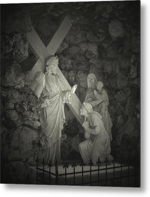 God Metal Print featuring the photograph Be Still And Know by Terence McSorley