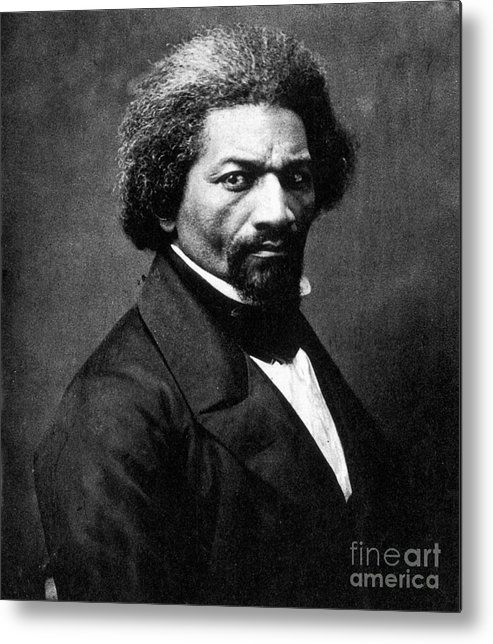 1866 Metal Print featuring the photograph Frederick Douglass by Granger