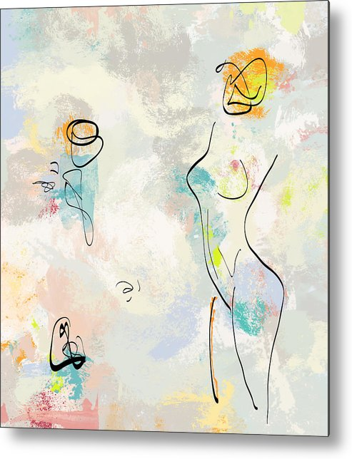 Abstract Metal Print featuring the photograph She Was Magic by MarthaLilia