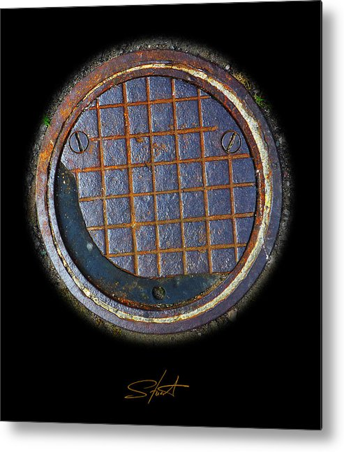 Smiley Metal Print featuring the photograph Smiley Face by Charles Stuart