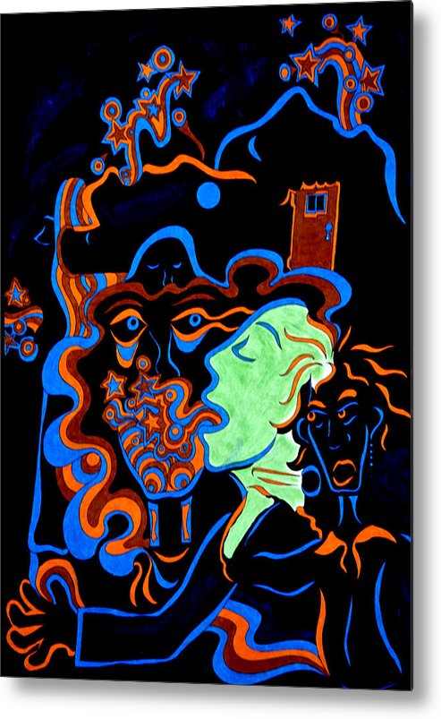 Abstract Metal Print featuring the print Rock Star by William Watson