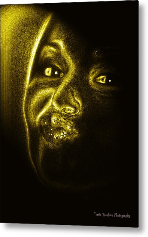 Beautiful Metal Print featuring the photograph Beautiful Woman by Travis Truelove