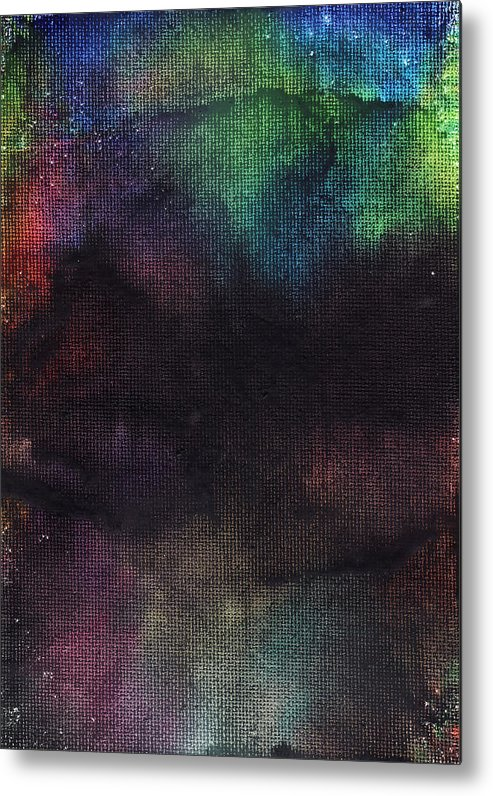 Wax Metal Print featuring the painting Midsummer Night by Ashley King