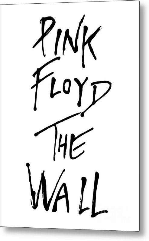Pink Floyd Metal Print featuring the digital art Pink Floyd No.01 by Caio Caldas