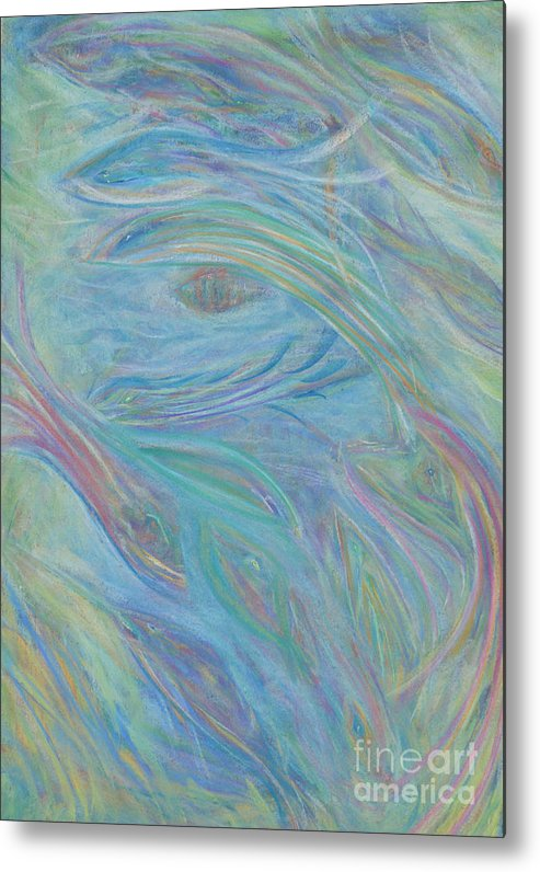 Faa Metal Print featuring the painting Portal In Belize Reef by Milton Tarver