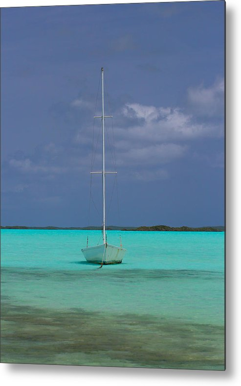 Boat Metal Print featuring the photograph Still Waters by Shaleen Holmes
