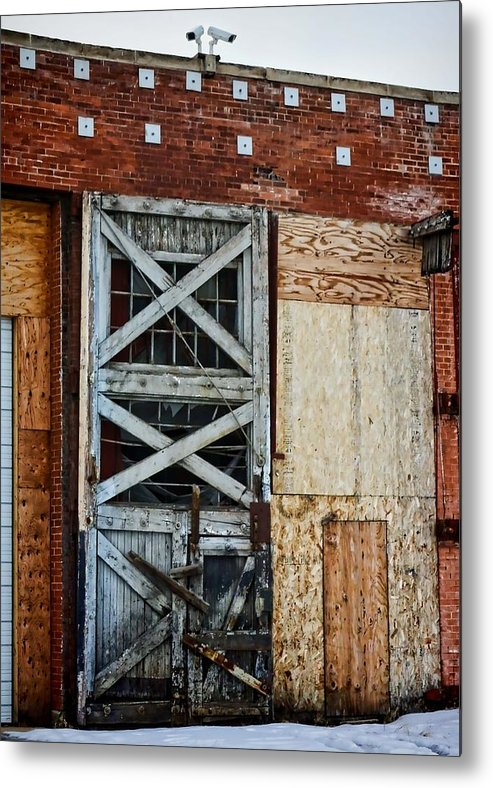 Evanston Metal Print featuring the photograph The Roundhouse Evanston Wyoming - 2 by Ely Arsha