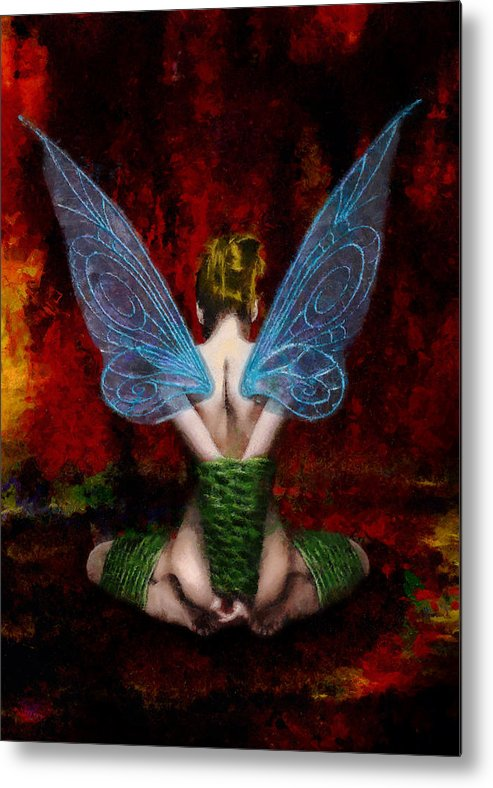 Tink Metal Print featuring the painting Tink's Fetish by Christopher Lane