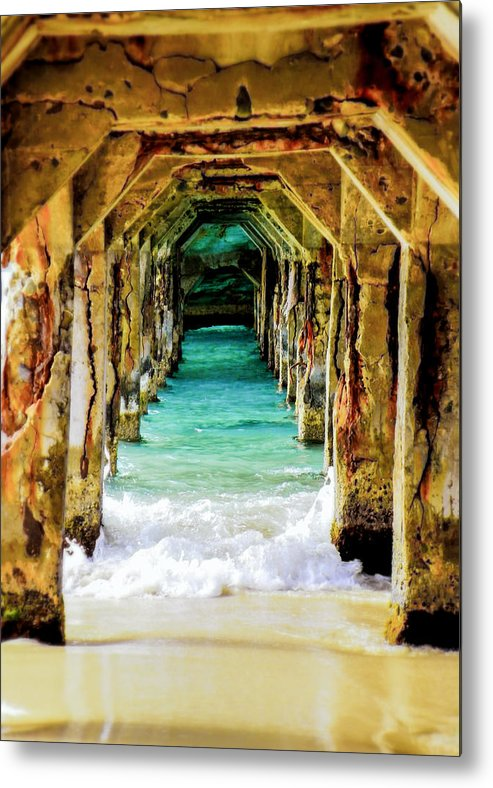 Waterscapes Metal Print featuring the photograph Tranquility Below by Karen Wiles