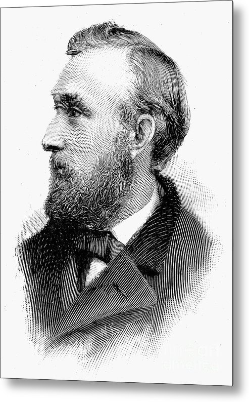 19th Century Metal Print featuring the photograph Edward Charles Pickering by Granger