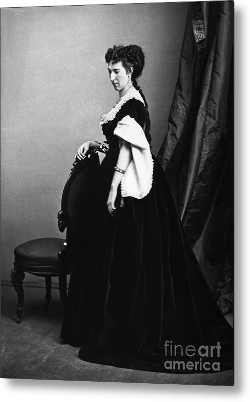 1860s Metal Print featuring the photograph Belle Boyd (1844-1900) by Granger