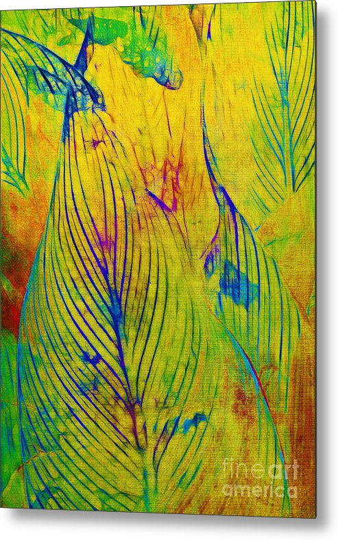 Jungle Metal Print featuring the photograph Leaves In The Jungle by Judi Bagwell