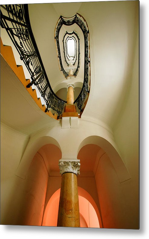 Staircase Metal Print featuring the photograph Music Score by John Galbo