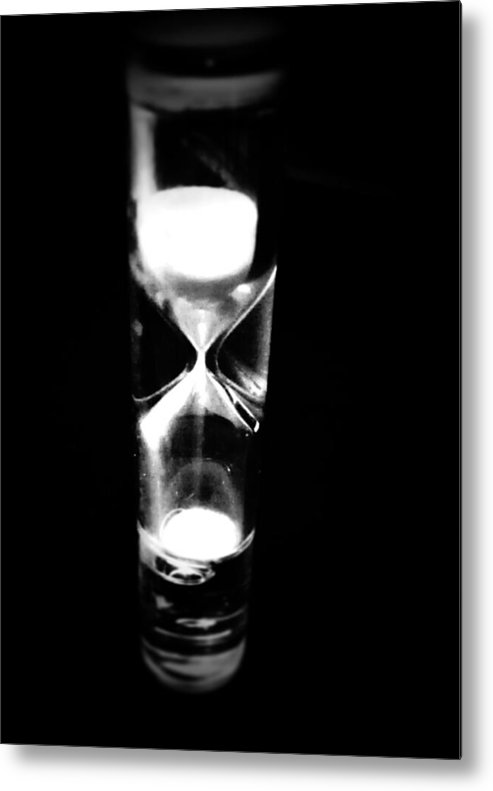 Time Metal Print featuring the photograph One Second In Time by Kevin D Davis