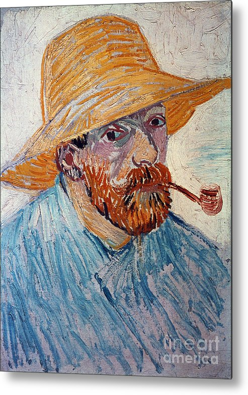 1888 Metal Print featuring the photograph Vincent Van Gogh by Granger